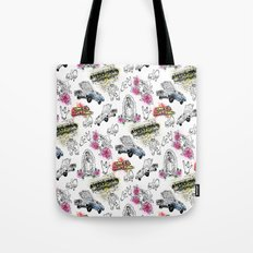 South Central Pattern Tote Bag