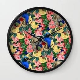 Eternal Peacock Wall Clock