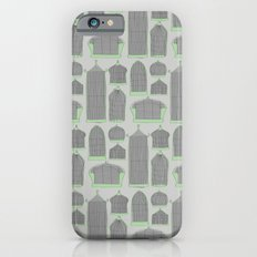 Birdcages (Gray) Slim Case iPhone 6s