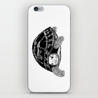 tortoise iPhone & iPod Skins featuring Tortoise by Emma Barker