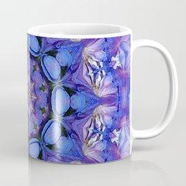 Summer sky Delphinium mandala Coffee Mug