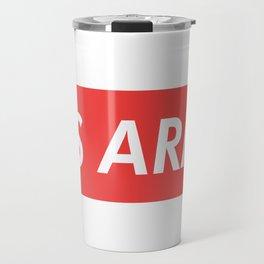 BTS ARMY red Travel Mug