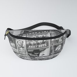 Times Square III Special Edition I (black & white) Fanny Pack