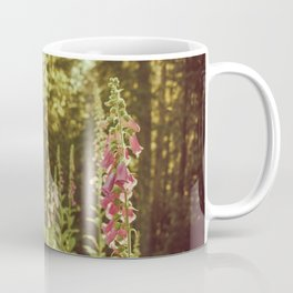 A New Day II Wildflowers at Dawn - Nature Photography Coffee Mug