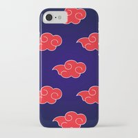 suit iPhone & iPod Cases featuring Akatsuki Suit by bimorecreative