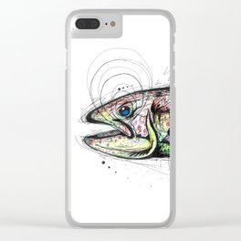 Trout Clear iPhone Case