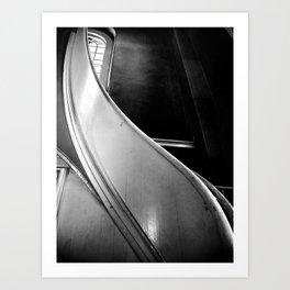 St Paul's Chapel Stair Art Print