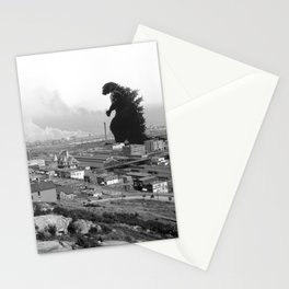 Old time Godzilla vs King Kong Reprised Stationery Cards