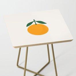 Orange Summer Citrus Side Table