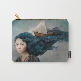 Message from the Sea Carry-All Pouch