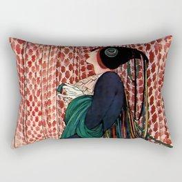 George Wolfe Plank Art Deco Magazine Cover #14 Rectangular Pillow