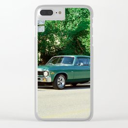 1970 Nova SS Clear iPhone Case
