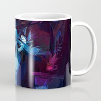 disco Mugs featuring Disco by tipa graphic