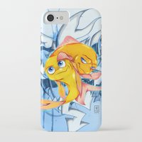 bucky iPhone & iPod Cases featuring Bucky & Ace by Paz Art