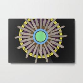 radial blame I Metal Print