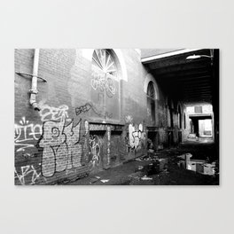 Dead Corners, Unplumbed Depths: I Canvas Print