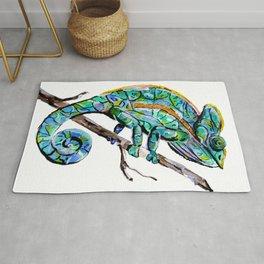 Magic Chameleon Rug