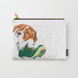 A little dog in a spike Carry-All Pouch