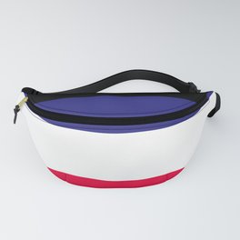 Leather Pride Flag Fanny Pack