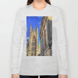Bath Abbey And Roman Baths Long Sleeve T-shirt