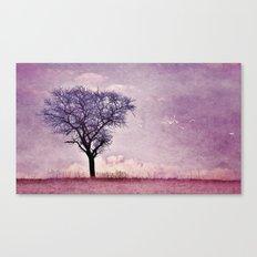My purple dream Canvas Print