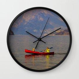 Boating Wall Clock