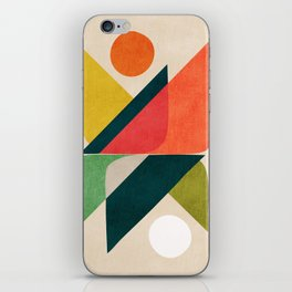 Reflection (of time and space) iPhone Skin