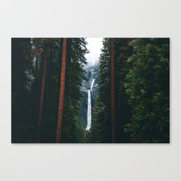 Yosemite Falls - Yosemite National Park, California Canvas Print