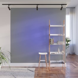 Periwinkle Gray Focal Point Wall Mural