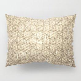d20 Forbidden Scroll Critical Hit Pattern Pillow Sham