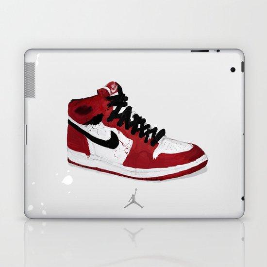 Nike Air Force 1 - Retro - Red & Black & White Laptop & iPad Skin
