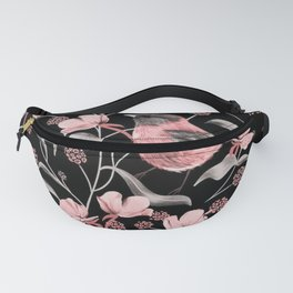 A canary among the flowers Fanny Pack