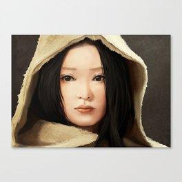 Zhou Xun Canvas Print