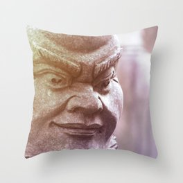 Bousan 02 Throw Pillow