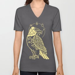 Messenger of Fire and Air Unisex V-Neck