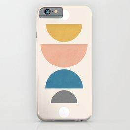 Abstraction_NEW_SUN_MOON_BALANCE_POP_ART_0223AM iPhone Case
