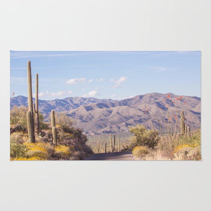 Down Desert Roads, IV Rug