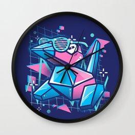 Cool Polygons Wall Clock