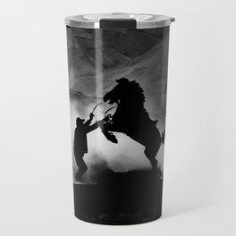 Java Ponies - Fine Art Photograph Travel Mug