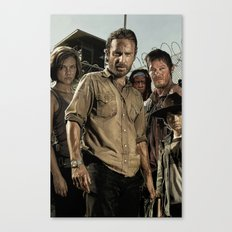 The Walking Dead - The Crew Canvas Print
