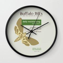 Buffalo Bil's Body Lotion Wall Clock