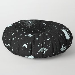 Magic Fluo Universe Floor Pillow
