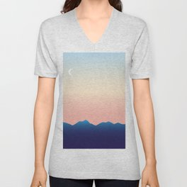 Hometown Sunset Unisex V-Neck