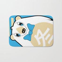 Fuyu - Season bear Winter Bath Mat