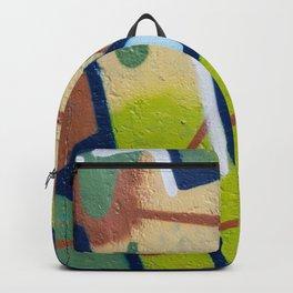 graffiti painting closeup - graffiti artwork Backpack
