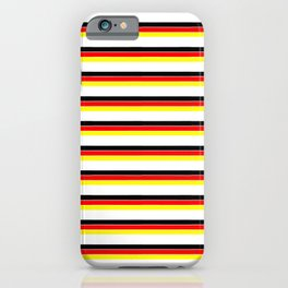 Mariniere and Flag - Germany iPhone Case