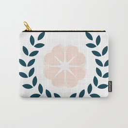 Floral Wreath Carry-All Pouch