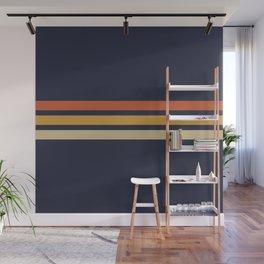 Vintage Retro Stripes Wall Mural