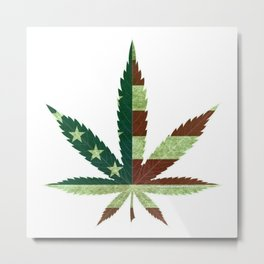 Repeal Cannabis Prohibition Metal Print