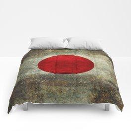 National flag of Japan - Super Grunge Comforters